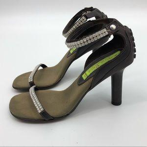 Materia Prima By Goffredo Fantini Rhinestone Heels